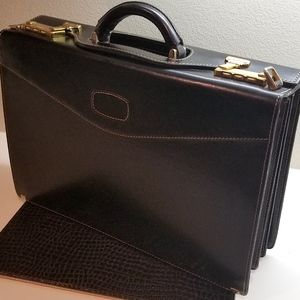 Lorenzo Vintage Hi Quality Unused Brief Case